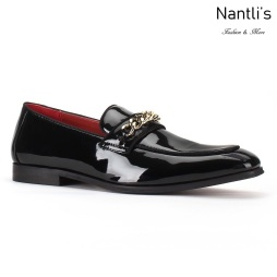 SL-C353 Black-Patent Zapatos por Mayoreo Wholesale mens shoes Nantlis Santino Luciano Shoes
