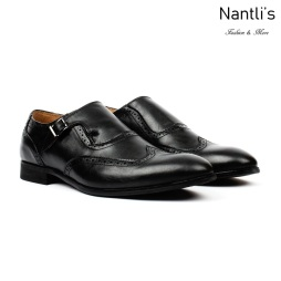 SL-C360 black Zapatos por Mayoreo Wholesale mens shoes Nantlis Santino Luciano Shoes