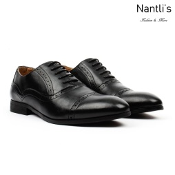 SL-C361 black Zapatos por Mayoreo Wholesale mens shoes Nantlis Santino Luciano Shoes