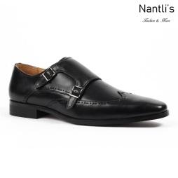 SL-C372 black Zapatos por Mayoreo Wholesale mens shoes Nantlis Santino Luciano Shoes