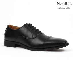 SL-C381 black Zapatos por Mayoreo Wholesale mens shoes Nantlis Santino Luciano Shoes