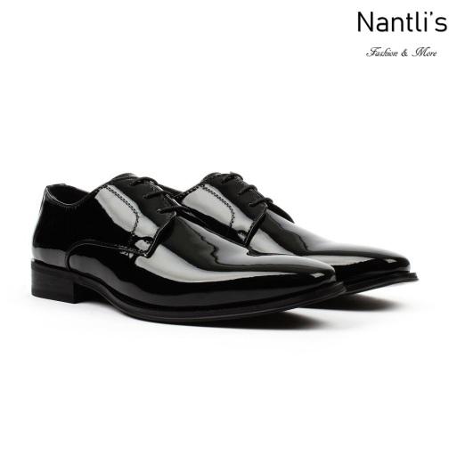 SL-C382 Black Zapatos por Mayoreo Wholesale mens shoes Nantlis Santino Luciano Shoes