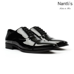 SL-C384 Black Patent Zapatos por Mayoreo Wholesale mens shoes Nantlis Santino Luciano Shoes