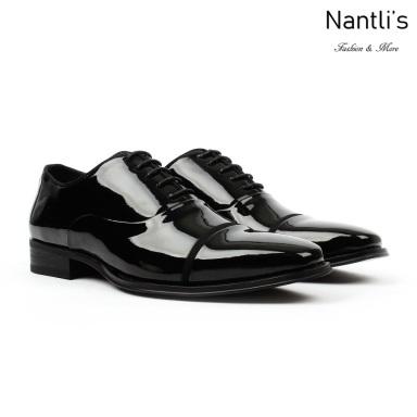 SL-C384 Black Patent Zapatos por Mayoreo Wholesale mens shoes Nantlis Santino Luciano Shoes