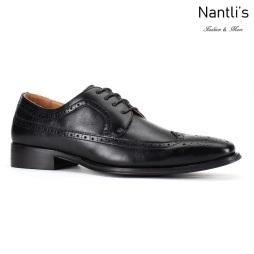 SL-C386 Black Zapatos de Hombre Mayoreo Santino Luciano Wholesale Mens shoes