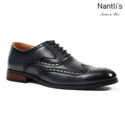 SL-C391 navy Zapatos por Mayoreo Wholesale mens shoes Nantlis Santino Luciano Shoes