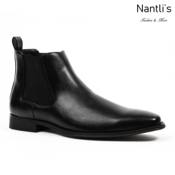 SL-D510 black Zapatos por Mayoreo Wholesale mens shoes Nantlis Santino Luciano Shoes