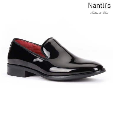 SL-j350 patent black Zapatos por Mayoreo Wholesale kids shoes Nantlis Santino