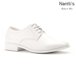 SL-j382 white Zapatos por Mayoreo Wholesale kids shoes Nantlis Santino