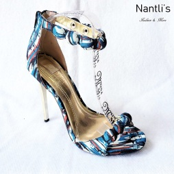 Zapatos de Mujer MC-Achelois Multi-Black Women Shoes Nantlis Mayoreo Wholesale