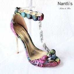 Zapatos de Mujer MC-Achelois Pink snake Women Shoes Nantlis Mayoreo Wholesale