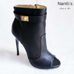 Zapatos de Mujer MC-Adamarys Black Women Shoes Nantlis Mayoreo Wholesale