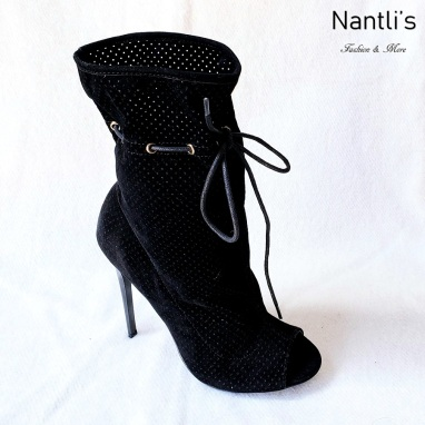 Zapatos de Mujer MC-Alectrona Black Women Shoes Nantlis Mayoreo Wholesale