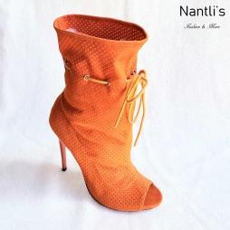 Zapatos de Mujer MC-Alectrona Orange Women Shoes Nantlis Mayoreo Wholesale