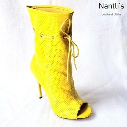 Zapatos de Mujer MC-Alectrona Yellow Women Shoes Nantlis Mayoreo Wholesale
