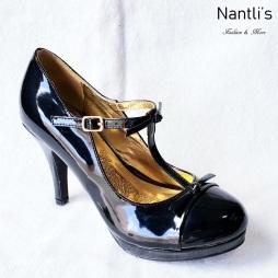 Zapatos de Mujer MC-Amaleria Black-Patent Women Shoes Nantlis Mayoreo Wholesale
