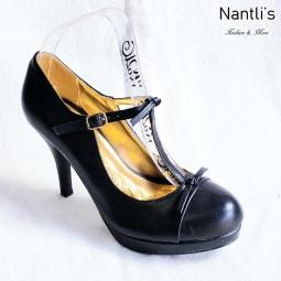 Zapatos de Mujer MC-Amaleria Black Women Shoes Nantlis Mayoreo Wholesale