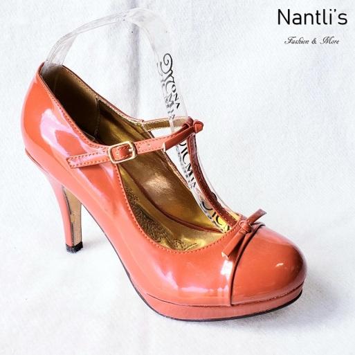 Zapatos de Mujer MC-Amaleria Brick-Patent Women Shoes Nantlis Mayoreo Wholesale