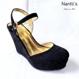 Zapatos de Mujer MC-Anakarencita Black Women Shoes Nantlis Mayoreo Wholesale