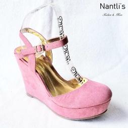 Zapatos de Mujer MC-Anakarencita Pink Women Shoes Nantlis Mayoreo Wholesale