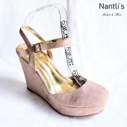 Zapatos de Mujer MC-Anakarencita Taupe Women Shoes Nantlis Mayoreo Wholesale
