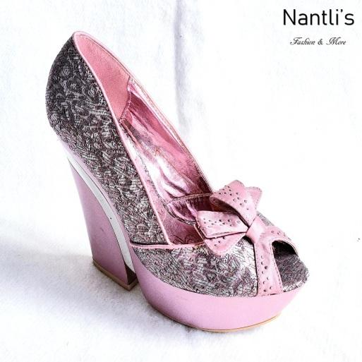 Zapatos de Mujer MC-Audelia Pink Women Shoes Nantlis Mayoreo Wholesale