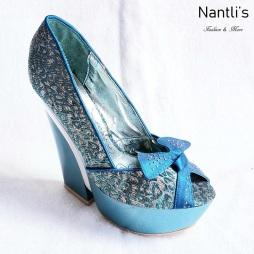 Zapatos de Mujer MC-Audelia Turquoise Women Shoes Nantlis Mayoreo Wholesale