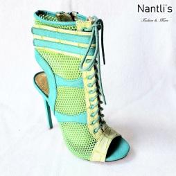 Zapatos de Mujer MC-Bonifacia Green Women Shoes Nantlis Mayoreo Wholesale