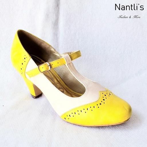 Zapatos de Mujer MC-Carina Nude-Yellow Women Shoes Nantlis Mayoreo Wholesale