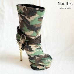 Zapatos de Mujer MC-Carmila Green Women Shoes Nantlis Mayoreo Wholesale