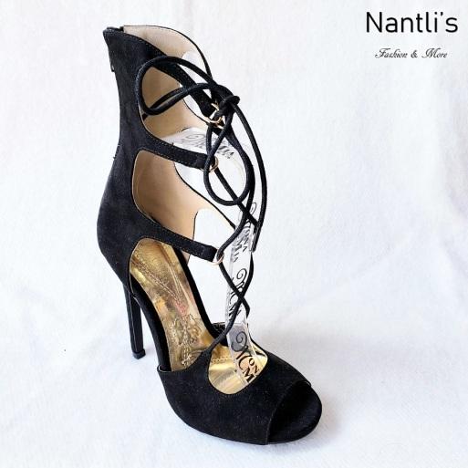 Zapatos de Mujer MC-Ceres Black Women Shoes Nantlis Mayoreo Wholesale