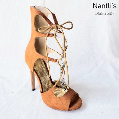 Zapatos de Mujer MC-Ceres Tan Women Shoes Nantlis Mayoreo Wholesale