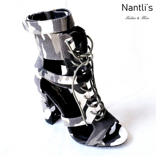 Zapatos de Mujer MC-Cindy Camouflage Women Shoes Nantlis Mayoreo Wholesale