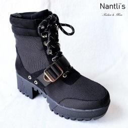 Zapatos de Mujer MC-Comander Black Women Shoes Nantlis Mayoreo Wholesale