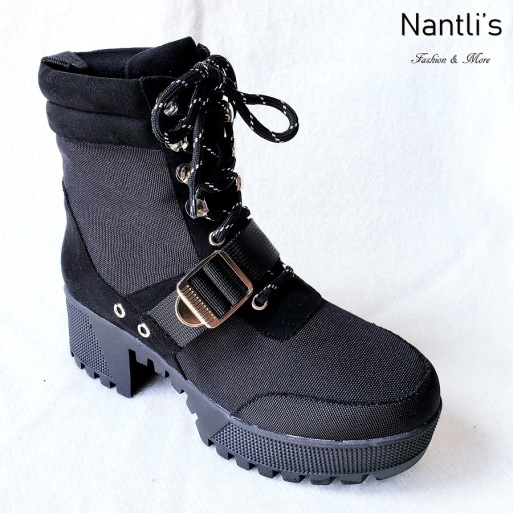 Zapatos de Mujer MC-Comander Black Women Shoes Nantlis Mayoreo Wholesale