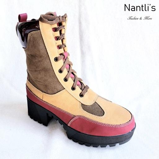 Zapatos de Mujer MC-Comander Brown-Multi Women Shoes Nantlis Mayoreo Wholesale