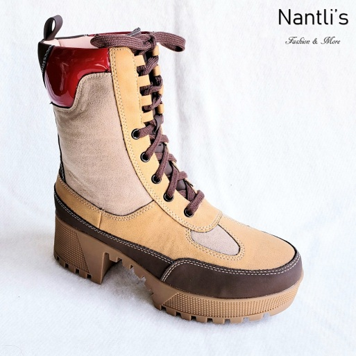 Zapatos de Mujer MC-Comander Tan-Multi Women Shoes Nantlis Mayoreo Wholesale