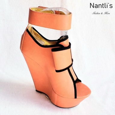 Zapatos de Mujer MC-Cresencia Orange Women Shoes Nantlis Mayoreo Wholesale
