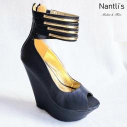 Zapatos de Mujer MC-Desideria Black Women Shoes Nantlis Mayoreo Wholesale