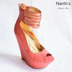 Zapatos de Mujer MC-Desideria Orange Women Shoes Nantlis Mayoreo Wholesale