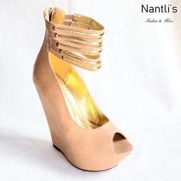 Zapatos de Mujer MC-Desideria Tan Women Shoes Nantlis Mayoreo Wholesale