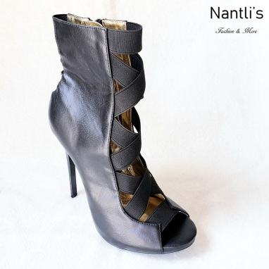 Zapatos de Mujer MC-Dioselin Black Women Shoes Nantlis Mayoreo Wholesale