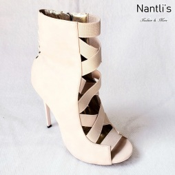 Zapatos de Mujer MC-Dioselin Nude Women Shoes Nantlis Mayoreo Wholesale