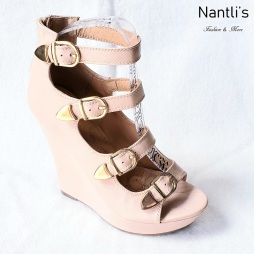 Zapatos de Mujer MC-Emelian Nude Women Shoes Nantlis Mayoreo Wholesale