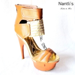 Zapatos de Mujer MC-Emiliana Tan Women Shoes Nantlis Mayoreo Wholesale
