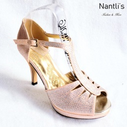 Zapatos de Mujer MC-Epigmenia Gold Women Shoes Nantlis Mayoreo Wholesale