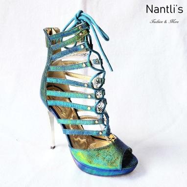 Zapatos de Mujer MC-Frendira Green Women Shoes Nantlis Mayoreo Wholesale