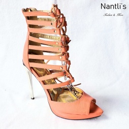 Zapatos de Mujer MC-Frendira Orange Women Shoes Nantlis Mayoreo Wholesale