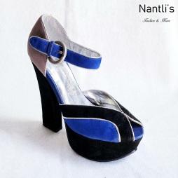Zapatos de Mujer MC-Galletana Black- Multi Women Shoes Nantlis Mayoreo Wholesale