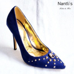 Zapatos de Mujer MC-Geraldina Ryal Blue Women Shoes Nantlis Mayoreo Wholesale